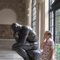 "The ""Thinker"" at Auguste Rodin Museum Paris, FR"